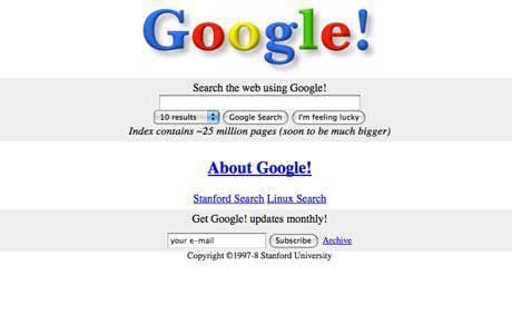 google first design