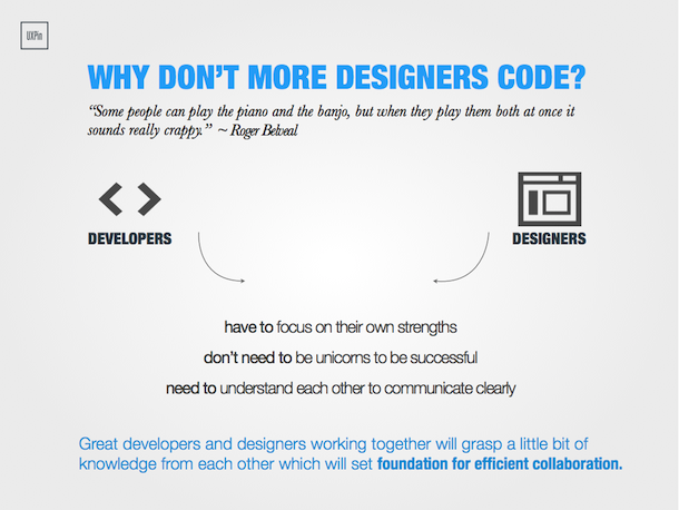 should designers code infographic
