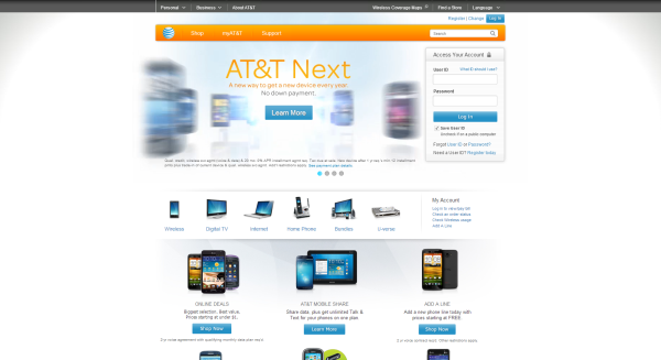 AT&T design now