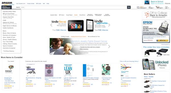Amazon design now
