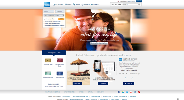 American Express design now