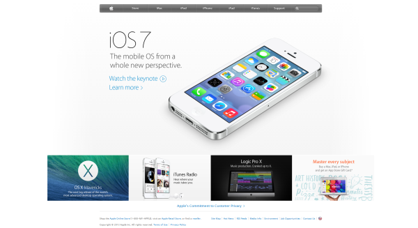Apple design now
