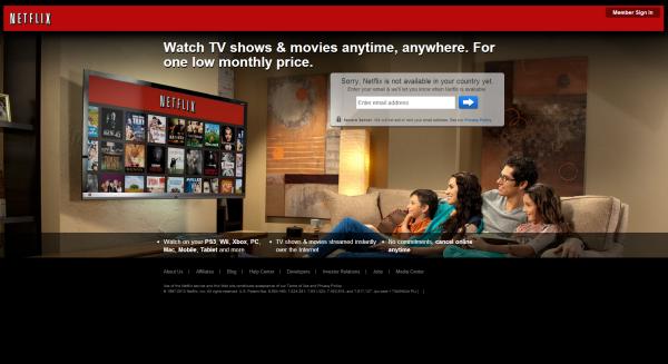 Netflix design now