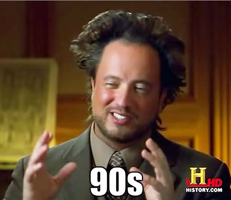 History Channel Guy   90s