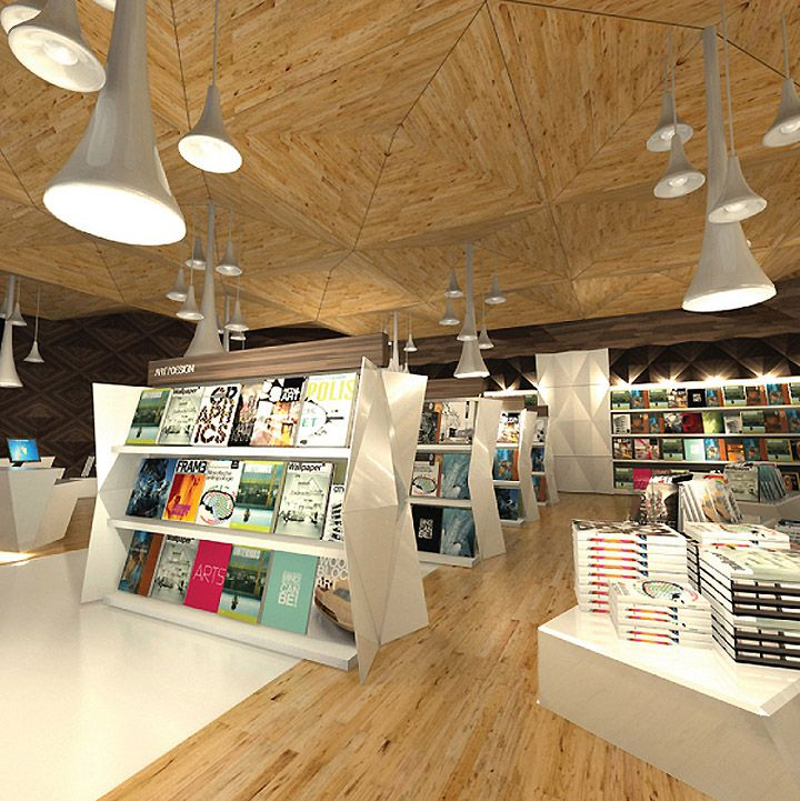 The Story Unfolds store design
