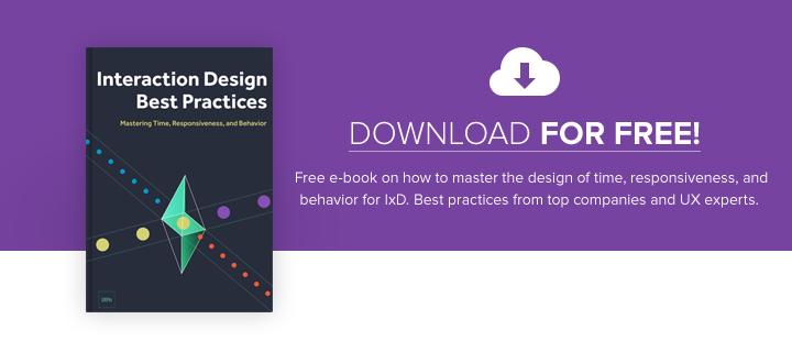 Interaction Design Best Practices: Time & Behavior