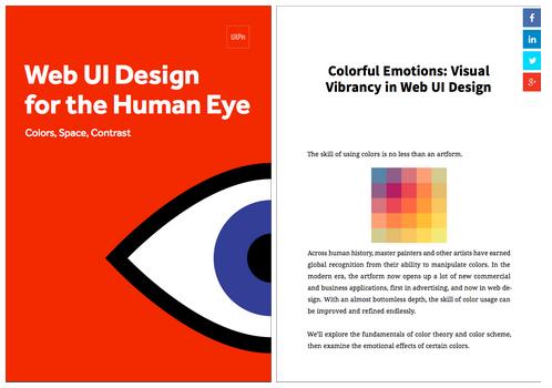 free Visual Web UI Design ebook