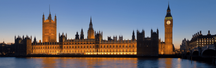 Palace of Westminster London small