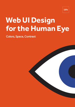 Web UI Design for the Human Eye Colors Space Contrast