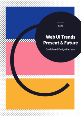 Web UI Trends Present Future Card Design Patterns