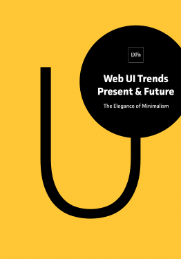 Web UI Trends Present Future The Elegance of Minimalism