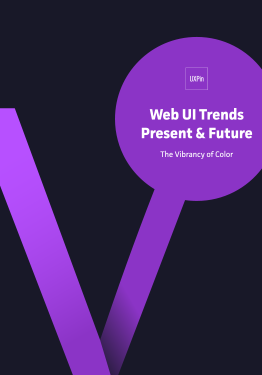 Web UI Trends Present Future The Vibrancy of Color