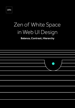 Zen of White Space in Web UI Design Balance Contrast Hierarchy