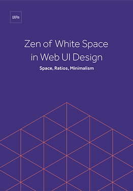 Zen of White Space in Web UI Design Space Ratios Minimalism