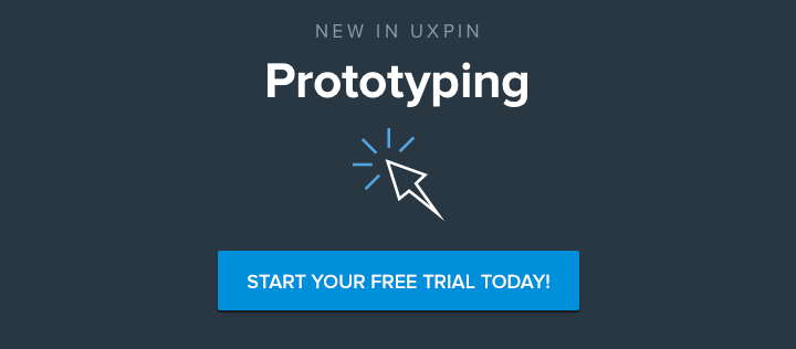 Start your free trial of UXPin