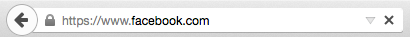 Screenshot of Firefox's refresh button and location/search bar