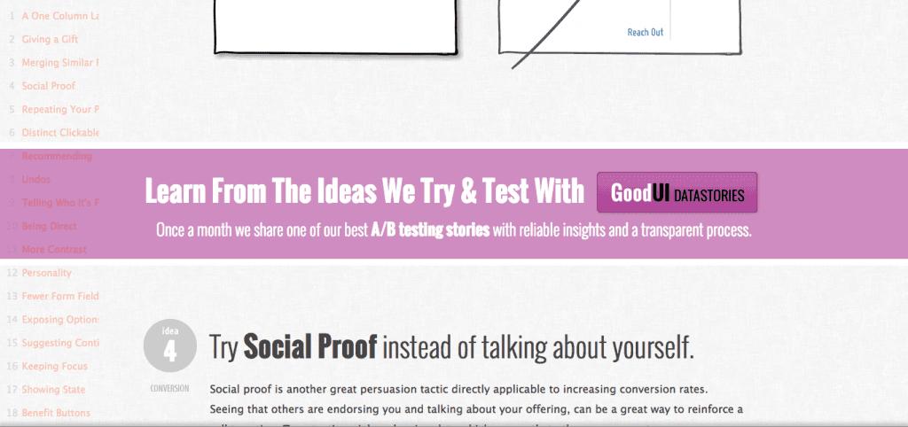 Screenshot of Good UI