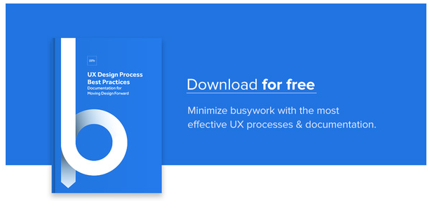 Minimize busywork with the most effective UX processes and documentation. Download this e-book for free.