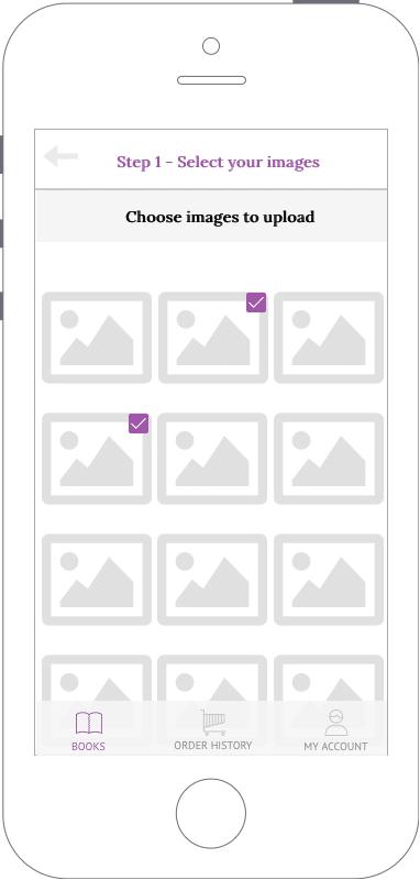 select image app design