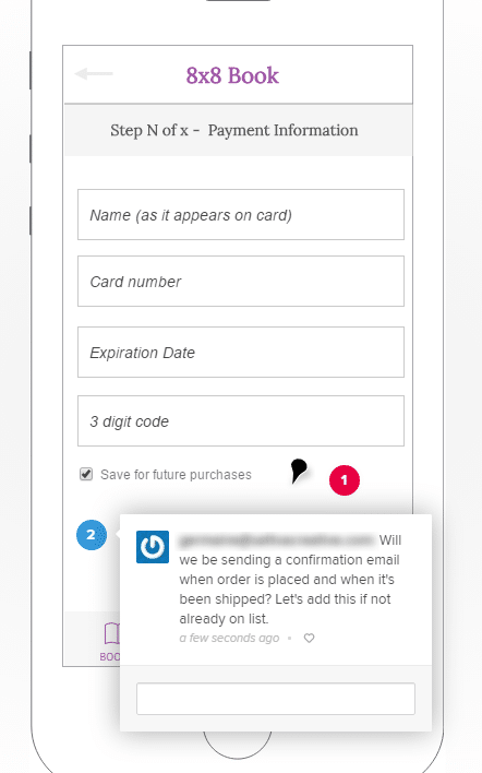 analyze feedback and update prototypes in UXPin