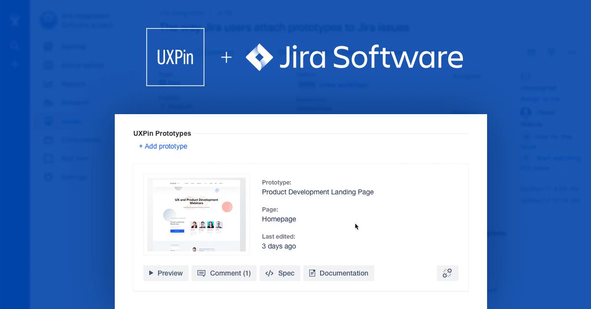 UXPin and JIRA integration