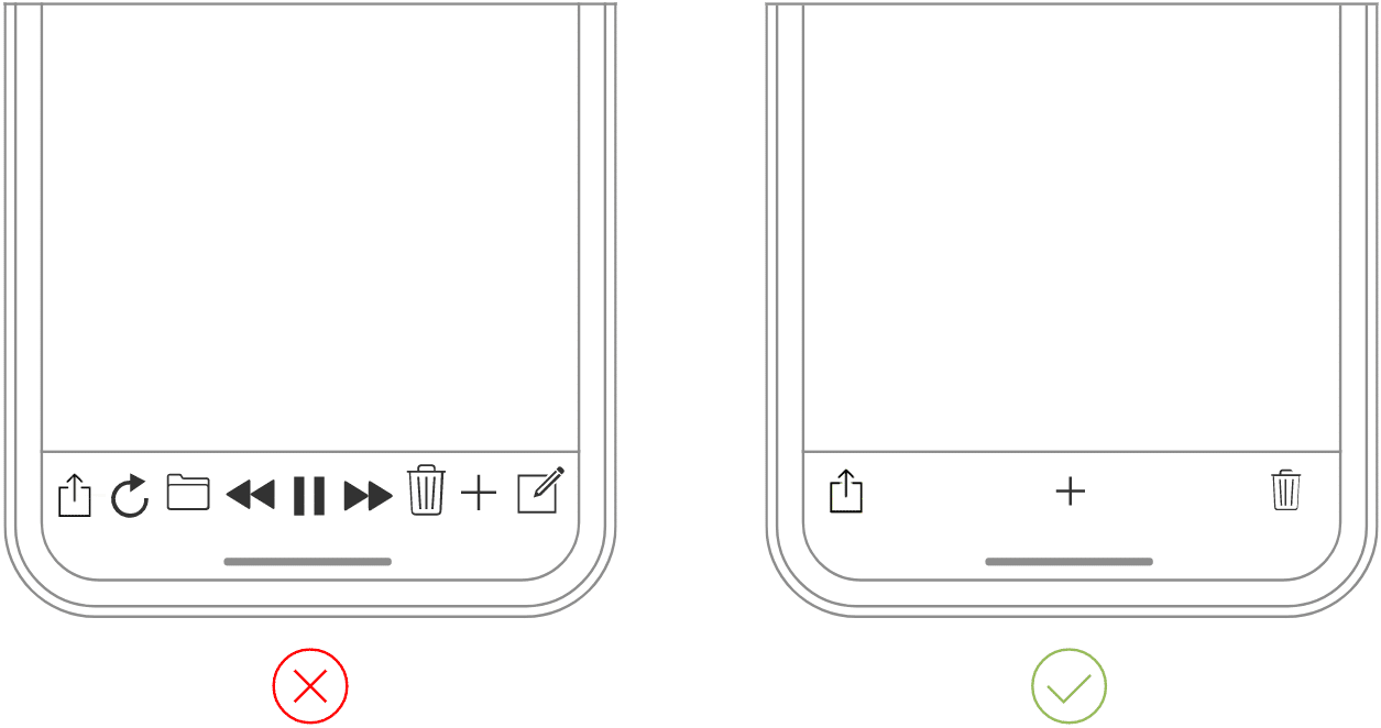 Apple UX minimalism