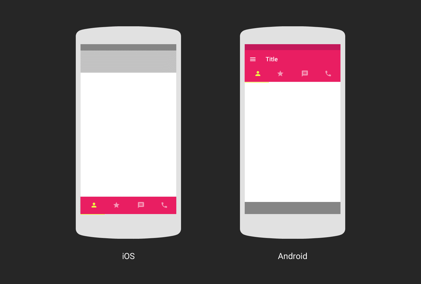 iOS vs Android design tips by UXPin