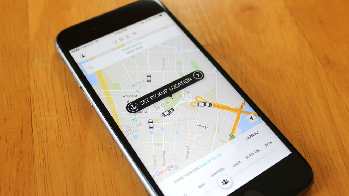how Uber uses the user data