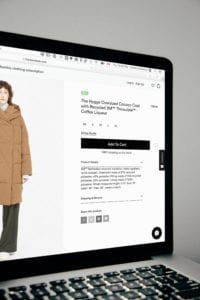 ecommerce UI design