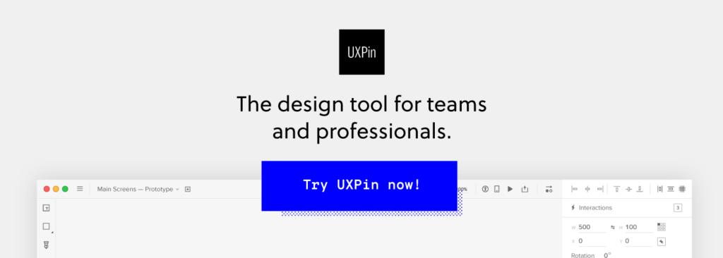 UXPin sign up