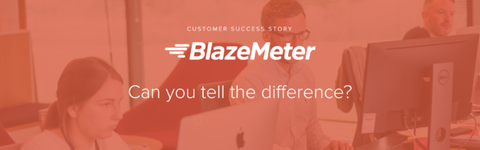 BlazeMeter - Can you tell the difference? UXPin Customer Success Story