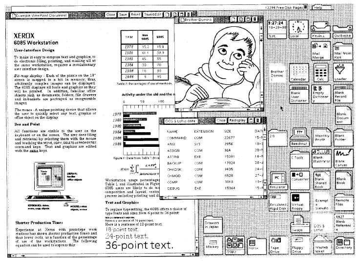 Xerox Star Interface II