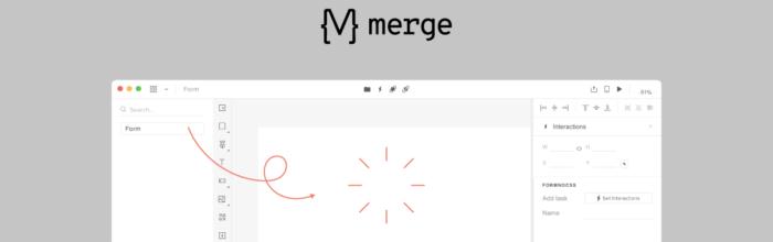 Design with code Merge Header