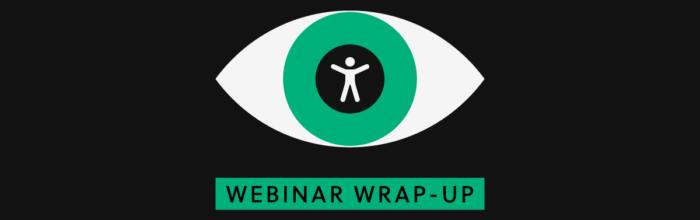 Webinar Wrap Up