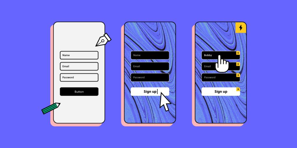 Prototype vs Wireframe vs Mockup